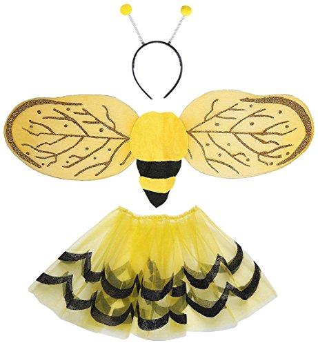 Widmann-Set für Kostüm Biene (Bienen Kostüm Kinder)