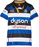 Canterbury Herren 's Bath Rugby Vapodri Plus Short Sleeve Home Pro Jersey XL Mehrfarbig (Surf The Web)