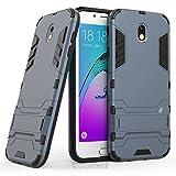 Galaxy J7 2017 J730 Custodia, Cocomii Iron Man Armor NEW [Heavy Duty] Premium Tactical Grip Kickstand Shockproof Hard Bumper Shell [Military Defender] Full Body Dual Layer Rugged Cover Case Paraurti Samsung (Black)
