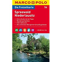 MARCO POLO Freizeitkarte Spreewald, Niederlausitz 1:100.000