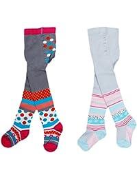 Babystrumpfhose für Mädchen Komfort Baumwolle RA-25W Tender & Graceful 2 er Set bunt Gr. 80 / 86
