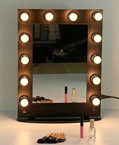 Specchio make up specchietti trucco postazione luci estetica make-up 70x60 cm