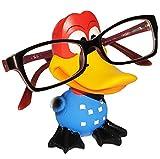 Unbekannt Brillenhalter -  lustiger Vogel - Papagei / Donald  - stabil aus Kunstharz - universal Größe - für Kinder & Erwachsene / Brillenhalterung - lustiger Brillen..
