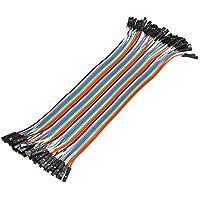 Plat Firm 40pcs 20cm hembra a cable de puente dupont hembra para Arduino