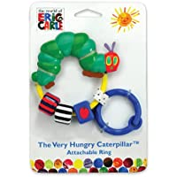 The Very Hungry Caterpillar Attachable Ring Rattle