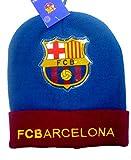 Marchandises Enfants Best Deals - Bonnet officiellement certifiée Authentique de FC Barcelone Avec Logo PVC, pour les enfants - Marchandise certifiée FC Barcelone
