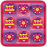 Stephen Joseph Magnetic Tic Tac Toe Set, Princess/Castle