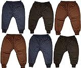 #9: Kids Baby Boys and Girls Woollen Winter Body Warmer Solid/Plain Thermal Pyjama Bottom Pack of 6