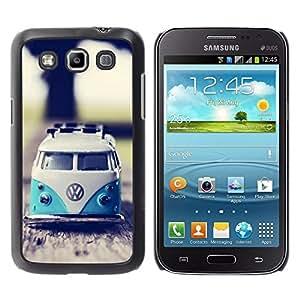 FlareStar Colour Printing Hippie Bus 70'S Weed Culture Van Coque Cas Case Cover en plastique pour Samsung Galaxy Win / i8550 / i8552 / Grand Quattro