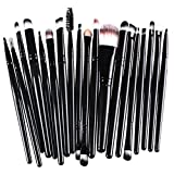 Best Kolight Lip Brushes - Pure Black : KOLIGHT Pack of 20pcs Cosmetic Review