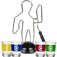 Bada-Bing-Trinkspiele-Partyspiel-Hau-den-Lukas-Glcksrad-Pinball