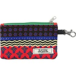 Natural Life CPRS110 Vagabond Gypsy Id Pouch Monedero, Color Negro