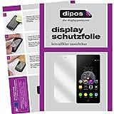 dipos I 6X Schutzfolie klar passend für ZTE Nubia Z9 Mini Folie Bildschirmschutzfolie (3X Vorder- und 3X Rückseite)