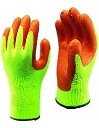 Dickies Mens HV Workwear Grip Glove Yellow M,L,XL