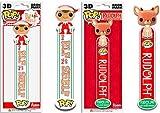 Funko POP. Elfo en el estante 3d marcapáginas Juego elfo & Rudolph