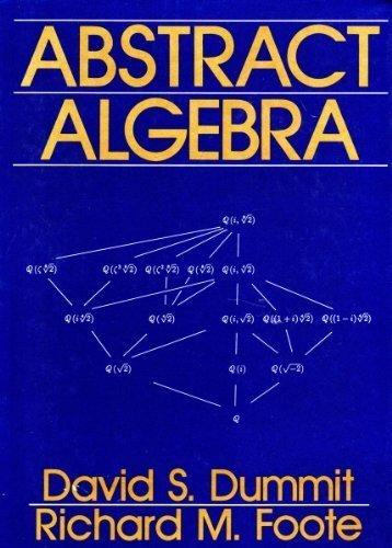 Abstract Algebra by David Dummit (1990-11-30)