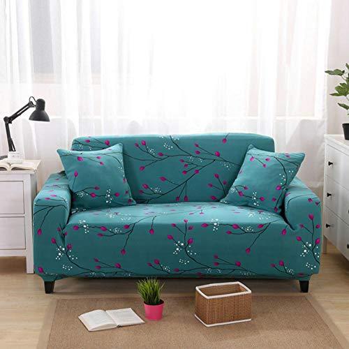 Sofa-Überwürfe Protector Sofa Abdeckung Stretch Hussen Für Sessel Für Wohnzimmer Sofa Hussen Günstige Couch Abdeckung Lila Blume