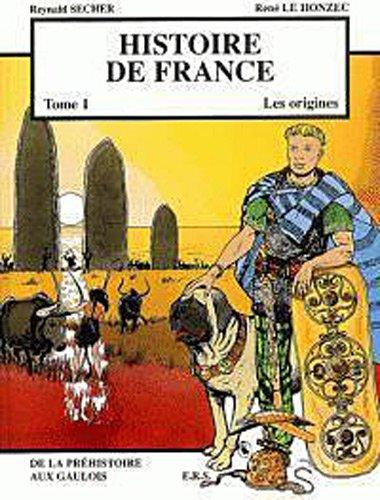 Histoire de France T1 Les origines - De la Préhistoire aux Gaulois