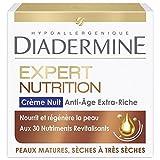 Diadermine - Soin réparateur anti-âge nuit - Expert 3D Nutrition - Le pot de 50ml - Prix Unitaire - Livraison Gratuit Sous 3 Jours