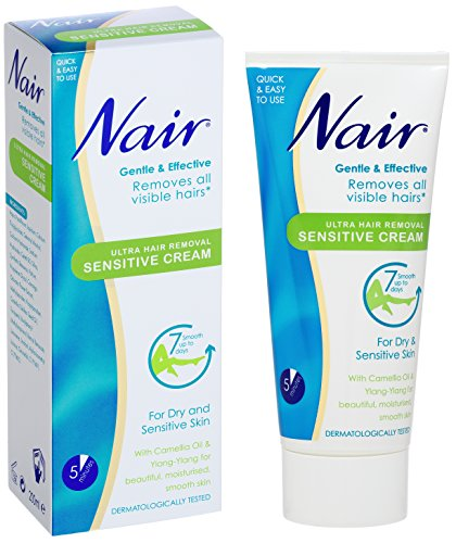 Nair Ultra Hair Removal Cream - Sensitive Formula 250ml