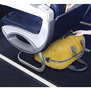 51AmGe1AECL. SS300  - WANDF - Bolsa de viaje plegable para equipaje, deportes, gimnasio, resistente al agua, nailon (20 L)