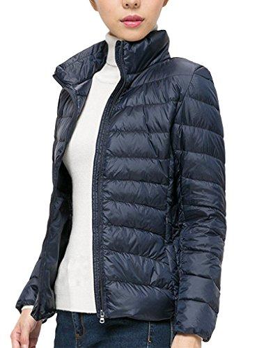 Damen Jacke Lightdaune Jacke Onltahoe Contrast Hooded Jacket Blau Gr.XXXL
