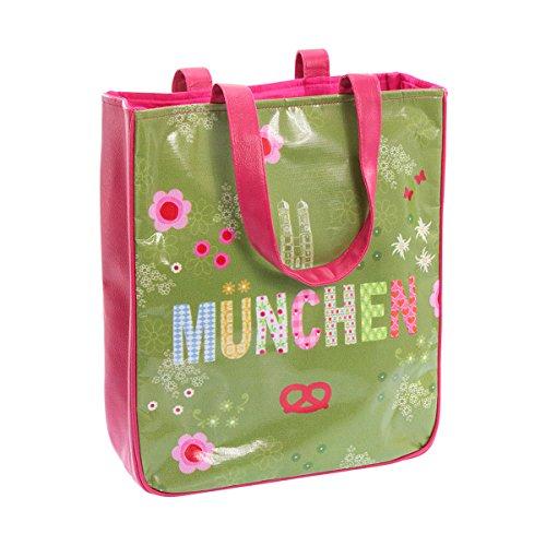 Wendekreis Berlin 41102443 - Shopper München süße Einkaufs-Tasche, ca. 31x36x9cm