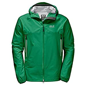 Jack Wolfskin Mountain Jacket, Herren, 1109051, waldgrün, S