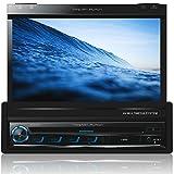 Tristan Auron BT1D7007 Autoradio 7,0'' Touchscreen Bildschirm ausfahrbar Navi DAB / DAB+ Bluetooth Freisprecheinrichtung USB/SD Slot CD/DVD 1 DIN