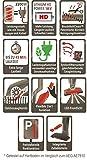 AEG Ergorapido CX7-2-45AN ANIMAL beutel- & kabelloser 2in1 Akku-Handstaubsauger inkl. zusätzlicher Elektrosaugbürste für den Handstaubsauger, Handstaubsauger mit Lithium-Ionen-HD-Akku für bis zu 45 Minuten Laufzeit / 135m², Wandhalterung & freistehende Ladestation, Rot