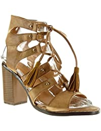 Essandalias Y Complementos Amazon Botin Zapatoszapatos Cordones Yb76gyfv