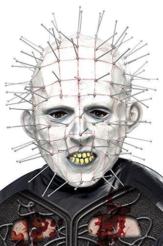 Hellraiser Herren Kostüm-Zubehör, Pinhead Maske (Herren Pinhead Kostüm)