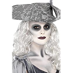 Maquillaje para disfraz de pirata fantasma.