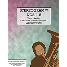 STEREOGRAM NOS. 1-5 (Stereograms for Tuba Collection) (English Edition)