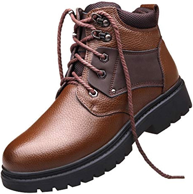 Scarpe Da Uomo Martin Scarpe Invernali Da Esterni Calde Foderate In Pelliccia Caviglia Scarpe Da Lavoro Da Lavoro... | Design professionale  | Scolaro/Signora Scarpa