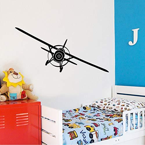 BFMBCH Lustige flugzeug wandaufkleber wasserdicht wandaufkleber wohnzimmer dekoration wand kinderzimmer kunst wandaufkleber 30 cm x 62 cm