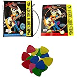 SG Musical - Combo Alice 1st and 3rd Guitar String + 10 Random Guitar Picks