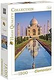 Clementoni - Puzzle de 1500 piezas, High Quality, diseño Taj Mahal (319671)
