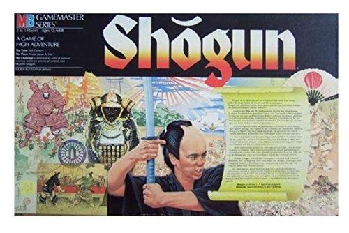Shogun (Gamemaster Series,1986) (Brettspiel Shogun)