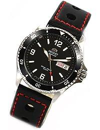 Orient 5Deep Mako II Automático Día Fecha Buceo reloj DIVER–Reloj correa de piel