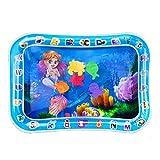 Aurora France Tapis de Jeux 50 * 66cm,Tapis d'eau Gonflable de bébé pour l'amusement,Tapis de Ventre idéal pour les jeux d'enfance