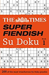 The Times Super Fiendish Su Doku Book 1 by The Times Mind Games (2014-10-01)
