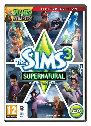 The Sims 3 Supernatural - Limited Edition (PC DVD) [UK IMPORT] Supernatural-pc-spiele