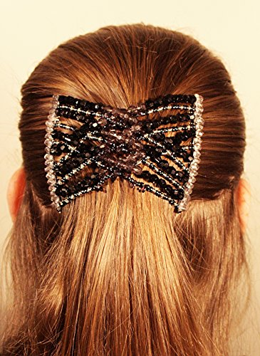 l'atteggiamento migliore 158f4 f34b2 Mebella donne Magic fermacapelli elastico EZ doppio pettine diversi stili  di capelli (VENDITA offerta £ 4.98) (dB)