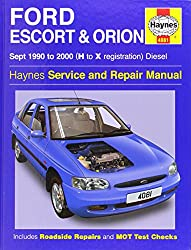 Ford Escort and Orion Diesel Service Repair Manual: 1990 to 2000 (H to X Reg)