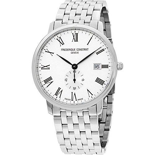 FREDERIQUE Constant Unisex Steel Bracelet & CASE Quartz Watch FC-245WR5S6B