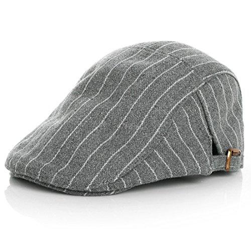 Kuyou Gatsby Mütze Kinder Baskenmütze Baby Kids Kapppe Hüte (Grau)