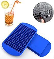 Home Cube Silicone 160 Small Ice Maker Tiny Ice Cube Trays Chocolate Mold Mould Maker For Kitchen Bar Party Drinks - Random Color
