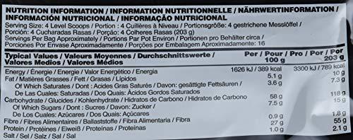 Optimum Nutrition Gold Standard Gainer Weight Gainer (mit Whey Isolat Eiweiß Pulver, Kohlenhydrate aus Hafer, Erbsen und Kartoffeln, Protein Shake von ON) Vanilla Ice Cream, 16 Portionen, 3,25kg