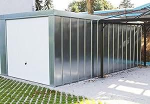 Einzelgarage Fertiggarage 2,98 x 5,97 x 2,31 m Geräteschuppen